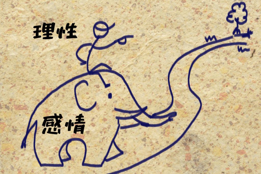 象と象使い 理性と勘定の関係図